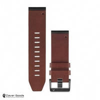 Ремешок Garmin Ремешок для Fenix 5x 26mm QuickFit Brown Leather Band (010-12517-04)