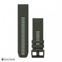 Ремешок Garmin Ремешок для Fenix 5x 26mm QuickFit Moss Green Silicone Band (010-12517-03)
