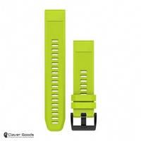 Ремешок Garmin Ремешок для Fenix 5 22mm QuickFit Amp Yellow Silicone Band (010-12496-02)