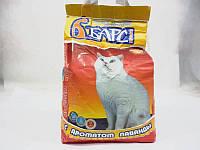 Барс-  наполнитель гигиенический для кошачьих туалетов с ароматом лаванды №1 - 5кг.