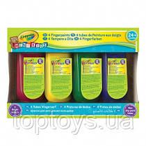 Краска Crayola легко смываемая для рисования пальцами (3239)