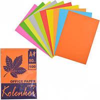 Бумага для ксерокса А4 5+ 5 цв, НЕОН+ на… (арт.N+N/100)