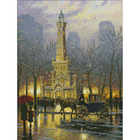 Набор для вышивки Candamar Designs 51653 Chicago.Winter at the Water Tower