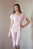 Пижама женская Shato 500/2 (домашний комплект, футболка и бриджи, одежда для дома), фото 2