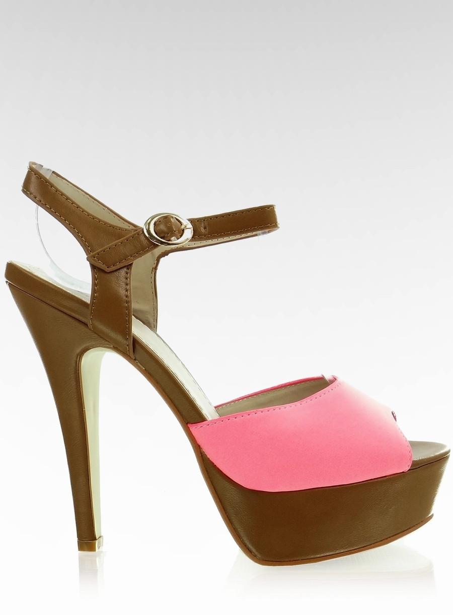 Розовые женские туфли-лодочки на каблуке 115908 40 - Shoester - обувь e3f1003174a08