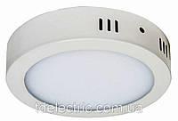 Светильник светодиодный AL504 24W круг накладной 1920Lm 5000K 300*40mm