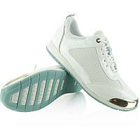 Белые женские кроссовки с металлическим носком Y621 38 размер