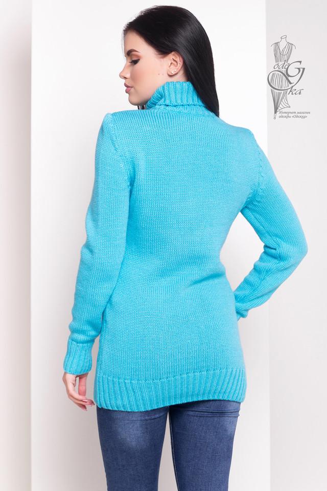 Фото-1 Женского зимнего свитера теплого Дара