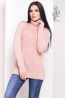 Женский зимний свитер теплый Дара-1 под горло Шерсть-Акрил