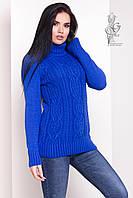 Женский зимний свитер теплый Дара-4 под горло Шерсть-Акрил