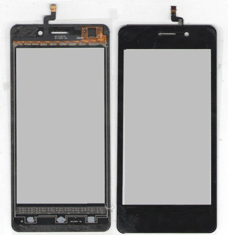 Сенсор (Touch screen) Nomi i450 чёрный
