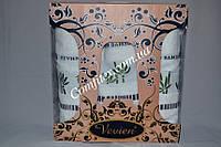 Комплект полотенец 3шт. Vevien Bamboo Бамбук 100% (2 лица, баня) - Турция 2100