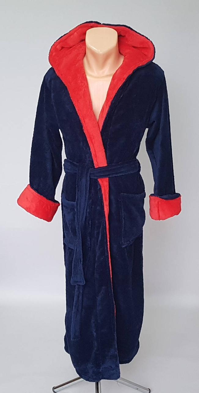 ad62e5baecb87 Мужской махровый халат синего цвета: продажа, цена в Хмельницком ...