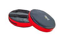 Лапы прямые круглые (пара) MATSA MA-0323 (чёрный-красный)