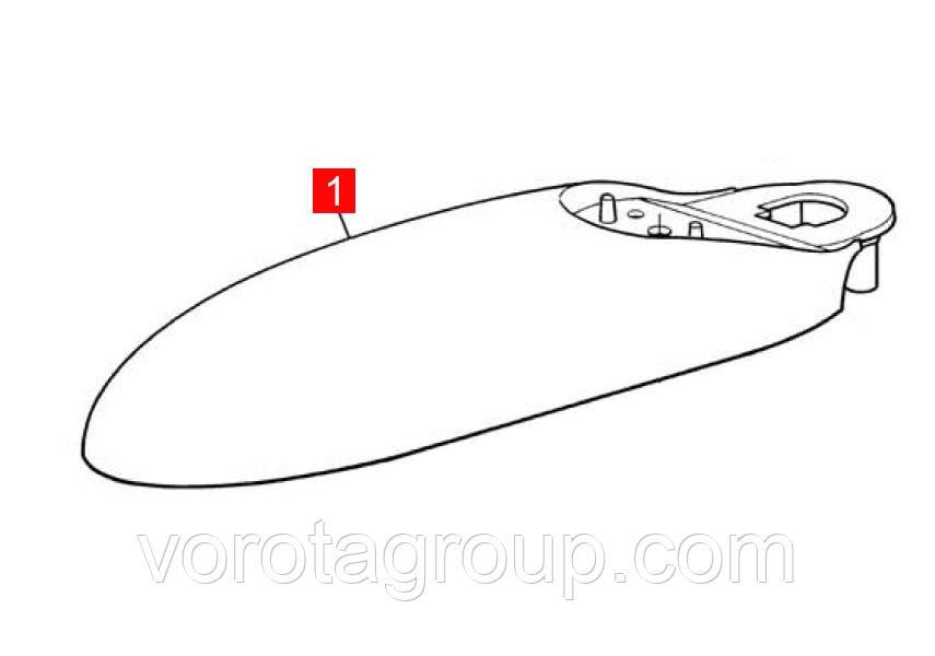 Корпус MB задний верхний (BMGMOPAR01.45673)