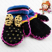 Красивые детские варежки для девочек Tanya 03-09-3