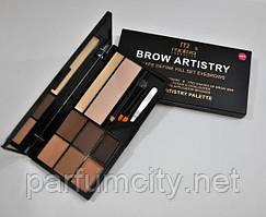Набор для коррекции бровей Palette Malva Cosmetics Brow Artistry