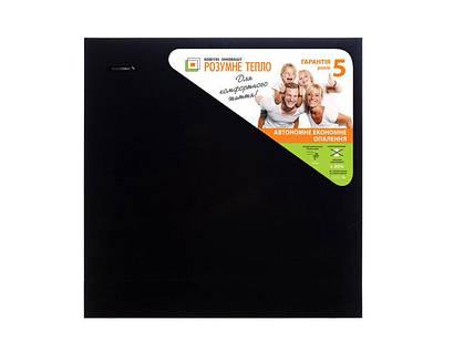 Обогреватель керамический с терморегулятором (моно цвета) - черный  500 Вт.10 м.кв. TCM-RA 500