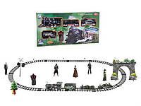 Набор железной дороги Train King с дымом Военный состав