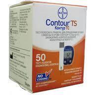 Тест-полоски Контур ТС (CONTOUR™TS) 50 штук