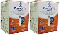 Тест-полоски Контур ТС (CONTOUR™TS) 2 упаковки - 100 штук