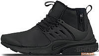 Мужские кроссовки Nike Air Presto Mid Top Utility Black