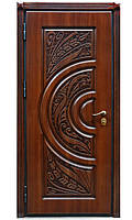 Двери металлические с МДФ-накладкой