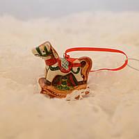 """LV 162369 Новогоднее украшение """"Рождественская лошадка"""""""