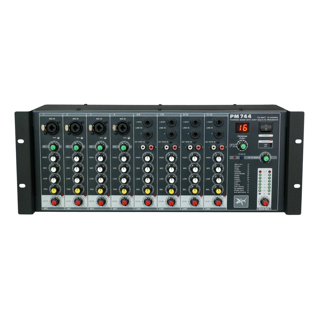 Силовой  микшер  Park Audio  PM744