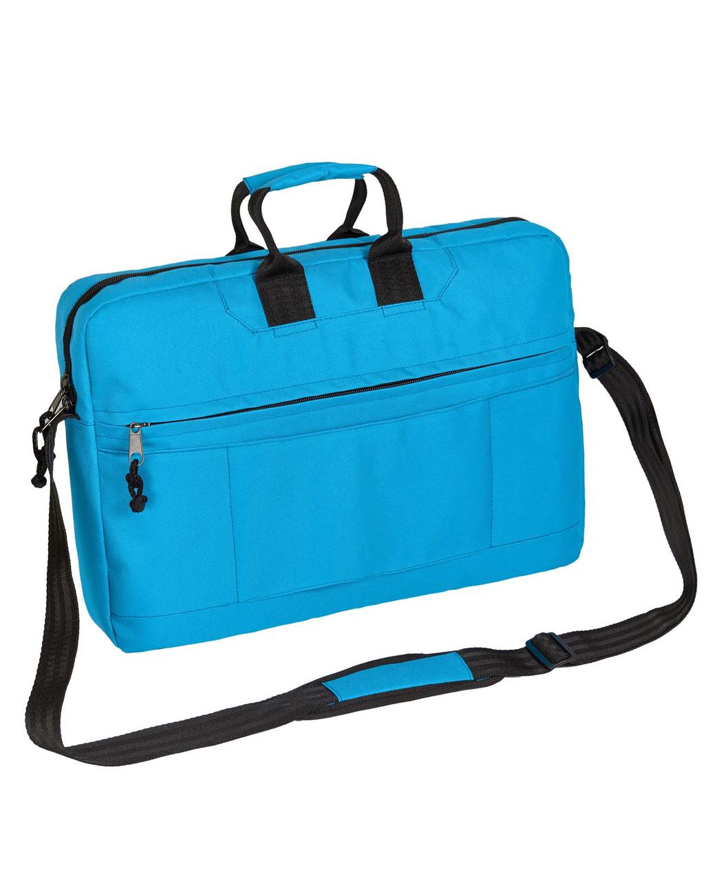 Сумка для ноутбука Surikat голубая (мужская сумка, женская сумка, под