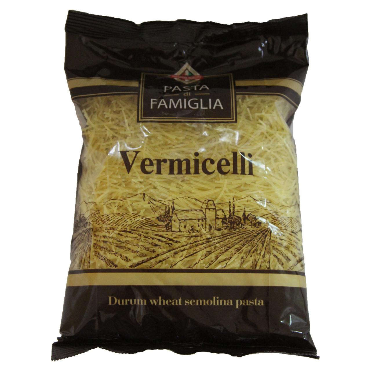 """Макаронные изделия вермишель 0,4кг """"Pasta Di Famiglia """""""
