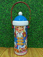 """Новогодняя упаковка для конфет """"Снегурочка"""" на 270 гр., фото 1"""