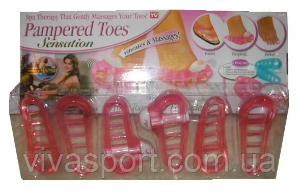 Массажер для пальцев ног Pampered Toes (Пэмперд Тус )