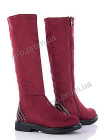 Сапоги женские Violeta (86-034 red)   6 пар (Код 64432)