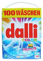 Dalli бесфосфатный стиральный порошок для стирки цветного белья Color (6.5 кг.-100 ст.) Германия
