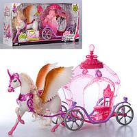 Игровой набор Карета 83264 с лошадью
