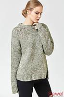 Вязаный зимний женский свитер