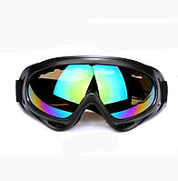 Окуляри лижні, маска лижна, маска для сноуборда, зеркальні лінзи, фото 1