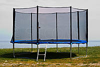 Батут FUN FIT 252 см, с сеткой и лесенкой