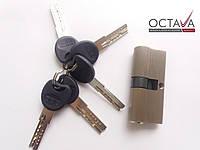 Серцевина замка ОСТО  PROFI SN 35/35 Ni (никель)  ключ-ключ