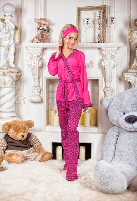 Женские махровые пижамы и домашние костюмы