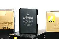 Аккумулятор для фотоаппаратов NIKON D3100, D3200, D3300, D5100, D5200, D5300, D5500 - EN-EL14