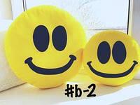 Большая подушка-смайлик Emoji #b-2 Smile, фото 1