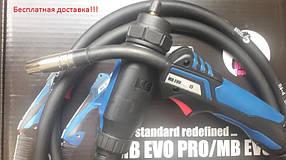 Сварочная горелка МВ EVO PRO 15  (3 метровая) KZ (евроразъем)