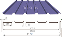 Профнастил ПС(К)-35