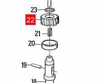 Шестерня редуктора MOBY (PMDCO5.4610)