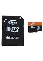 Карта пам'яті Team microSDHC 32GB Class 10 UHS-I + adapter
