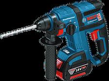 Аккумуляторный перфоратор Bosch GBH 18 V-EC Professional (4 А/ч, 1,7 Дж)