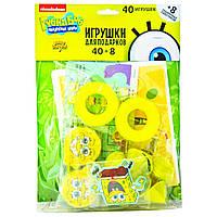 Набор игрушек для подарков, призов Губка Боб 48 шт./уп.