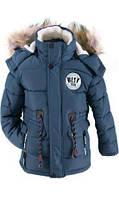 Зимняя куртка парка для мальчиков 3-7 лет